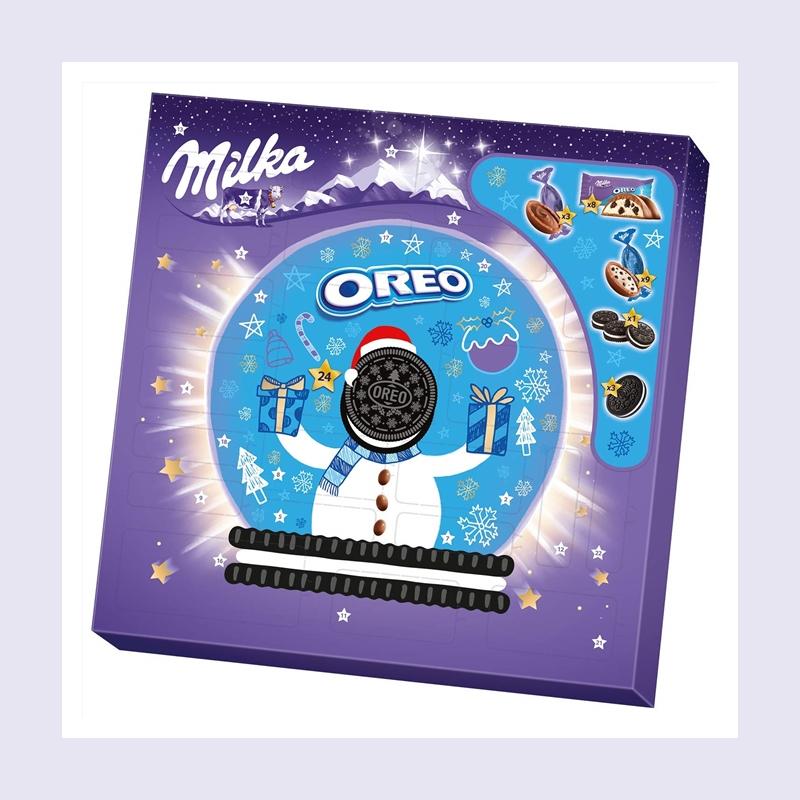 最最最甜蜜的圣诞日历!Milka & OREO 圣诞日历