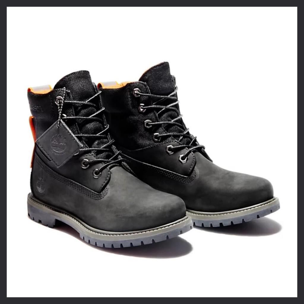 将帅气进行到底 Timberland拼接款6英寸防水靴