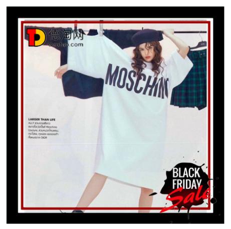 【直邮中国】Moschino黑五大促开始