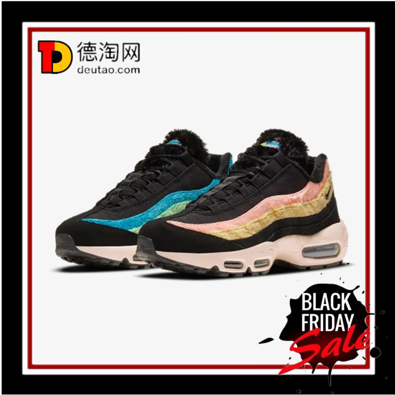 Nike Air Max 95 Premium,黑色毛毛边,就适合冬天!