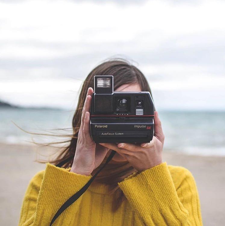 拍立得鼻祖 Polaroid宝丽来 OneStep+ 彩虹相机款式