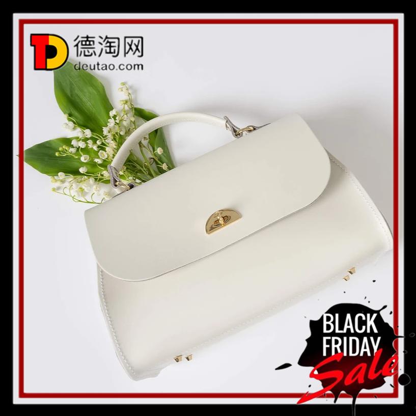 【直邮中国】The cambridge satchel Daisy Bag牛皮斜挎包