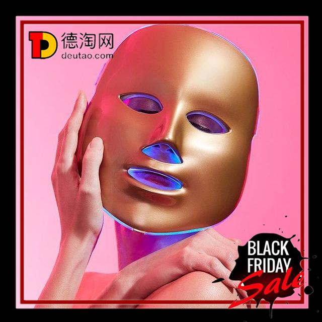 地表最强家用光子嫩肤仪 MZ Skin Light Goldene Therapie Maske