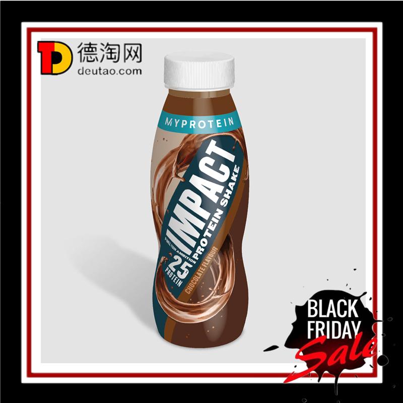 Myprotein蛋白质奶昔巧克力味~12瓶*330ml大包装!