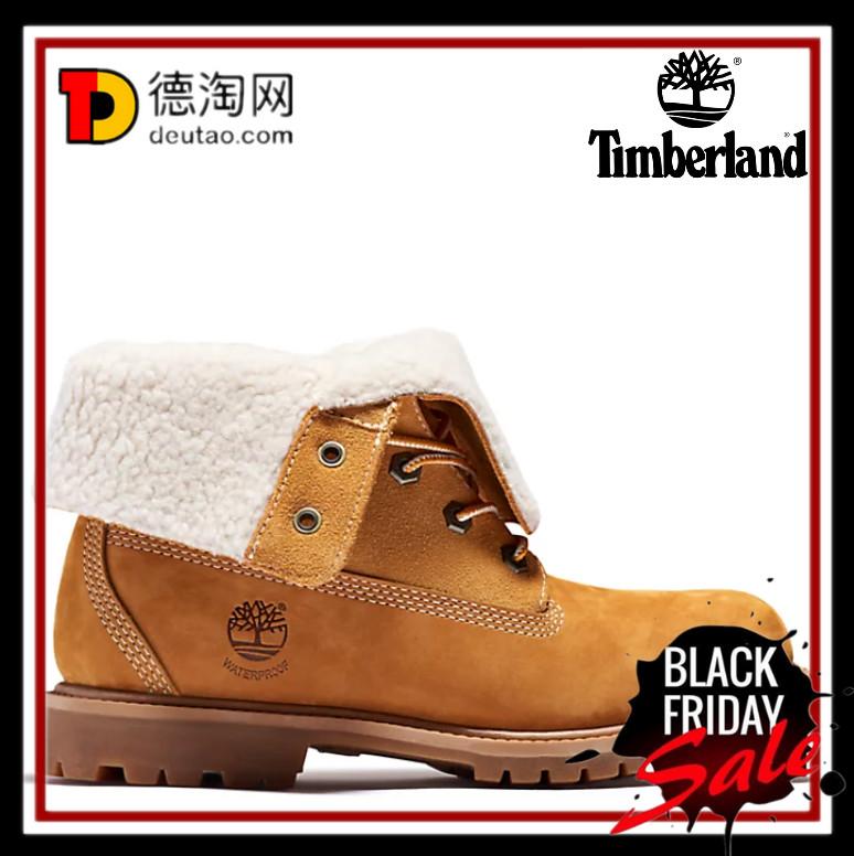 翻卷一下又是一双新的靴子了!Timberland翻卷两用靴