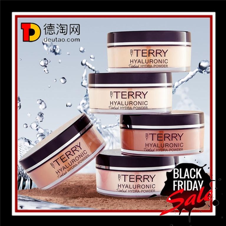 带有润色功能的柔焦保湿蜜粉!By Terry 玻尿酸柔焦水润修容蜜粉