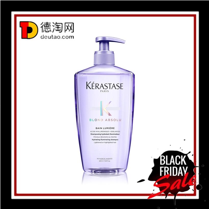 大包装也太太太划算了吧!Kérastase 卡诗玻尿酸水光洗发水#500ml装