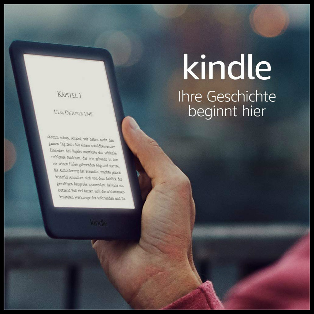 你背着书包,我背着Kindle!Kindle基础款 6寸4G