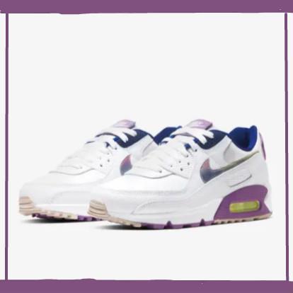 葡萄汽水配色!i葡萄人士不容错过!Nike Air Max 90 SE 白紫