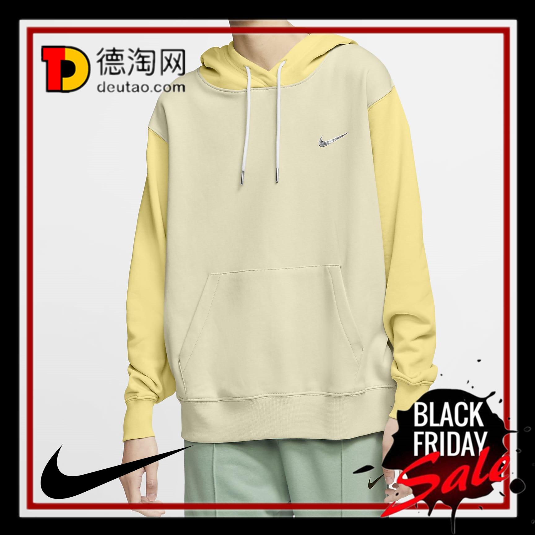 让人期待春天的拼接卫衣!Nike 卫衣