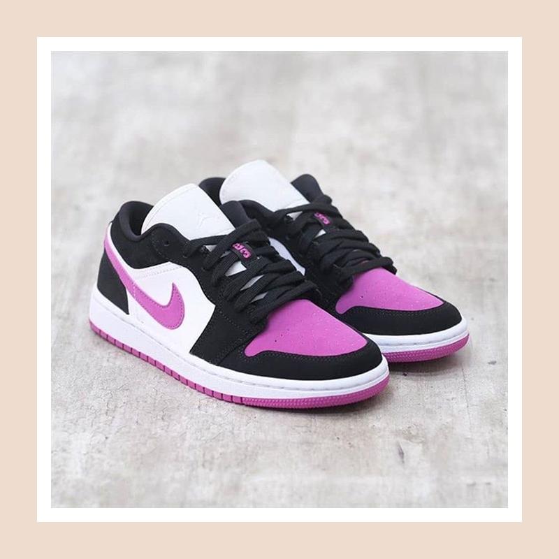 仙气满满又灵动的配色!Air Jordan 1 Low 乔丹女士低帮运动鞋