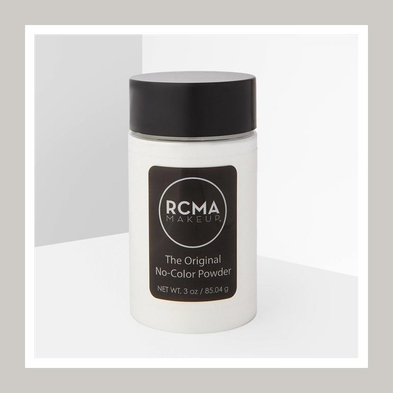 史上最超值定妆神器!RCMA 无色定妆散粉85g