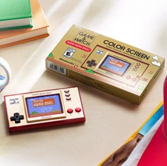 80、90后的童年!任天堂经典复古掌机GAME&WATCH