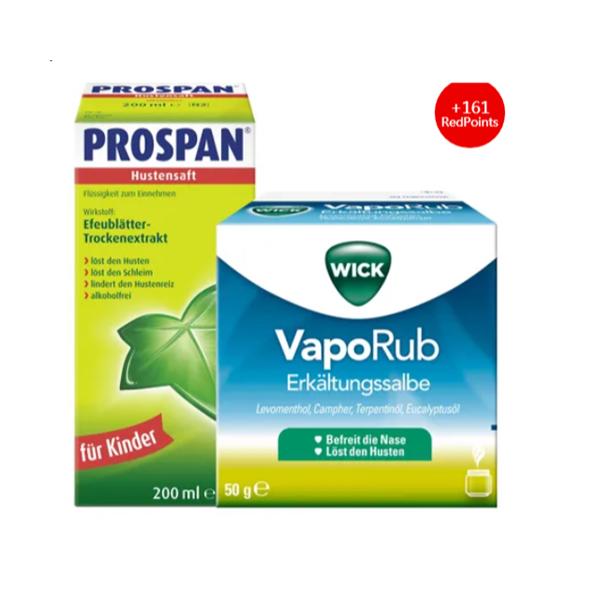 家中小药箱必备止咳舒缓感冒套装