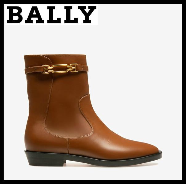 一看就很贵 超有质感的小皮靴 Bally Dema