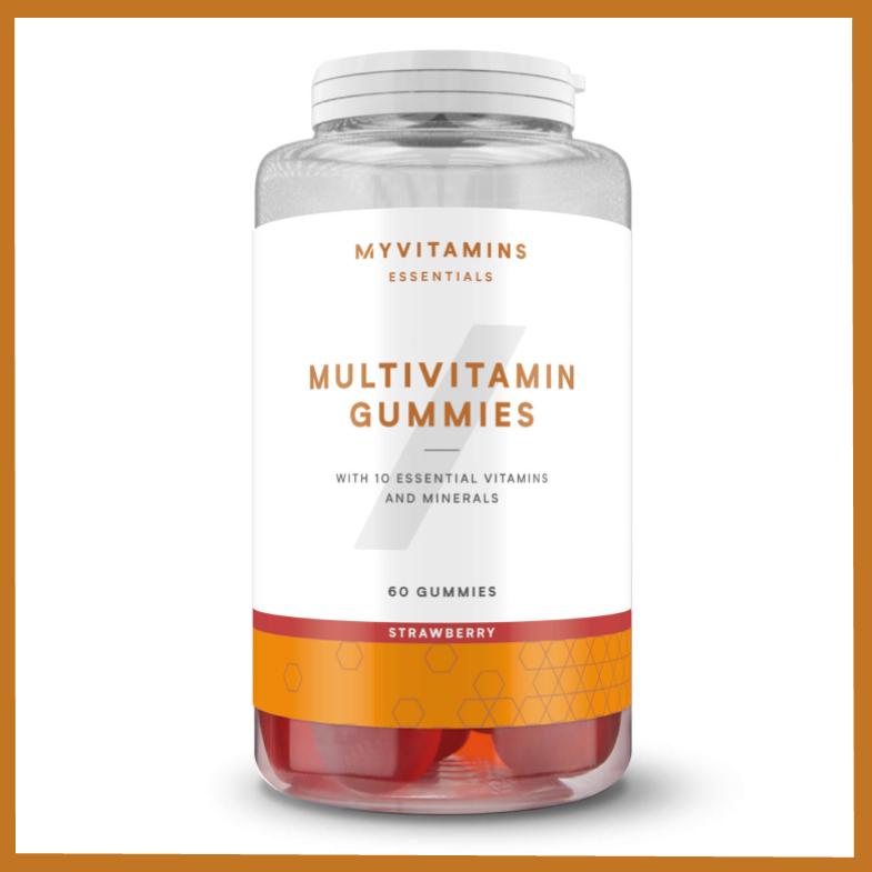 一边吃糖果一边补充营养 Myvitamins复合维生素软糖