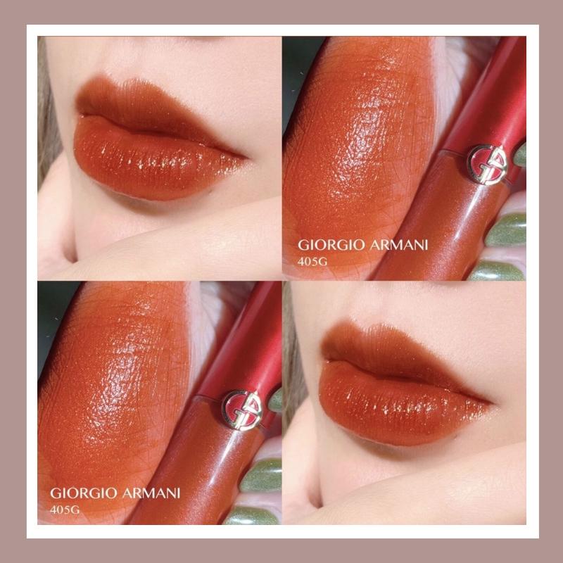 绝美限量特别版!Armani Lip Maestro/阿玛尼 丝绒哑光唇釉 新色405G