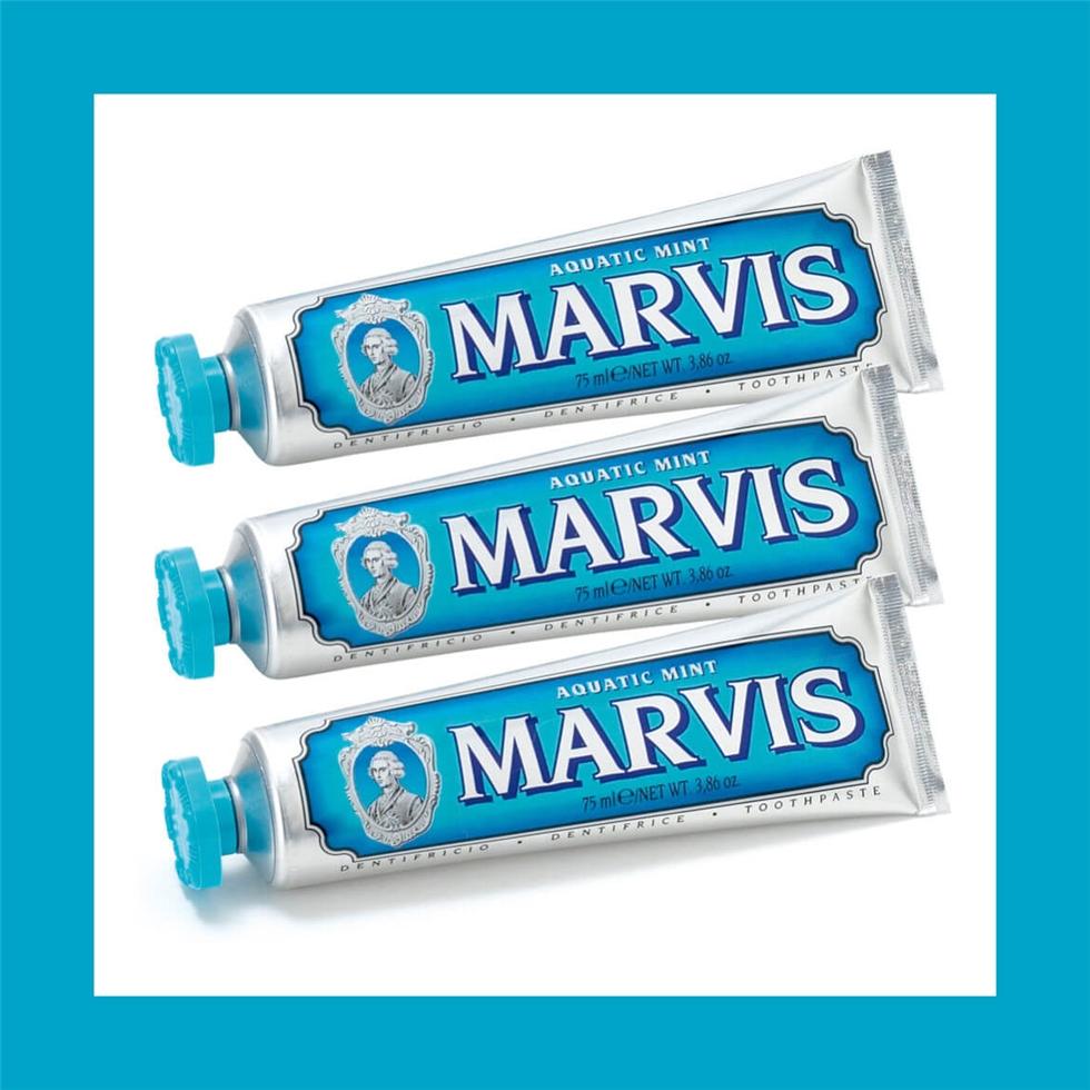 【囤货价】Marvis 意大利玛尔斯牙膏75ml*3支装