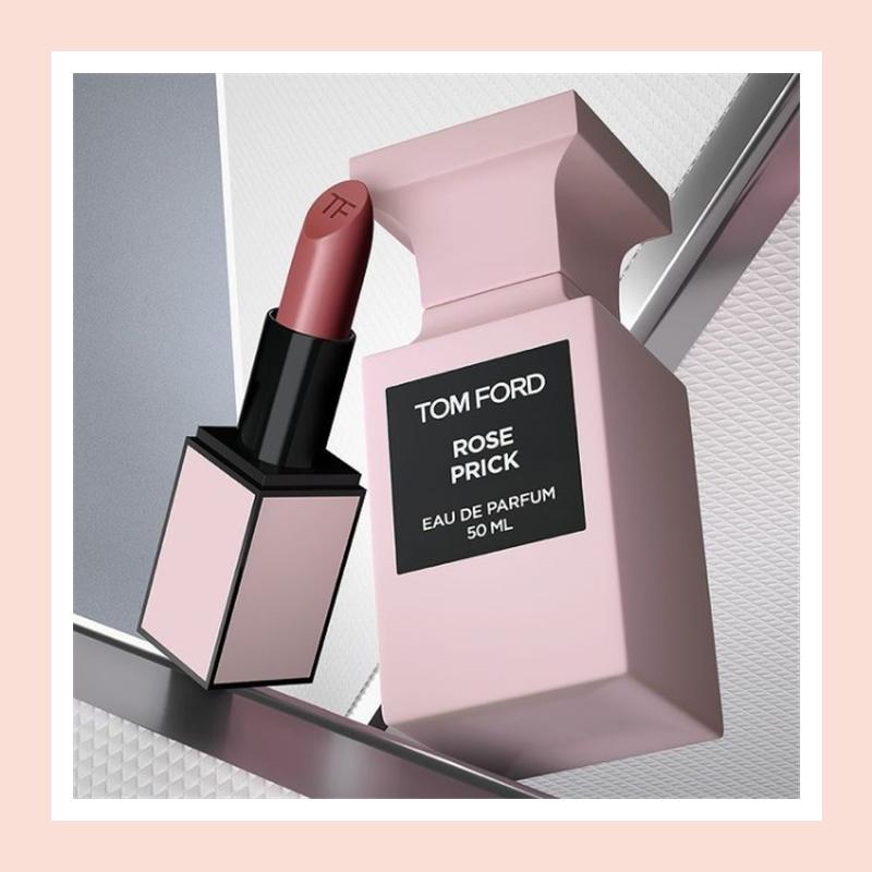 撩人带刺的玫瑰搭配限定唇膏,妙啊!Tom Ford 禁忌玫瑰限定套装