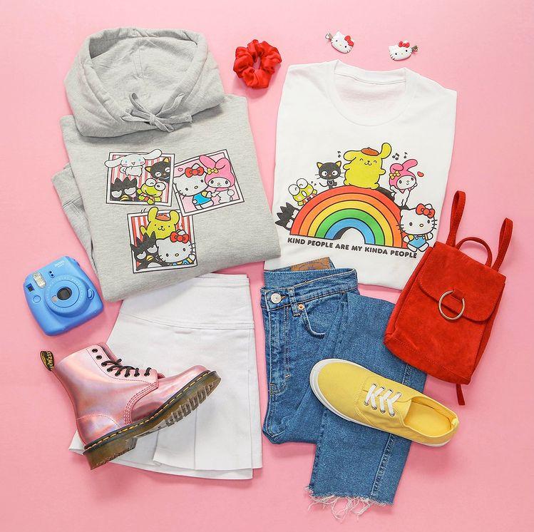 超可爱联名!Uniqlo X Sanrio优衣库联手三丽鸥 童装系列新上市!