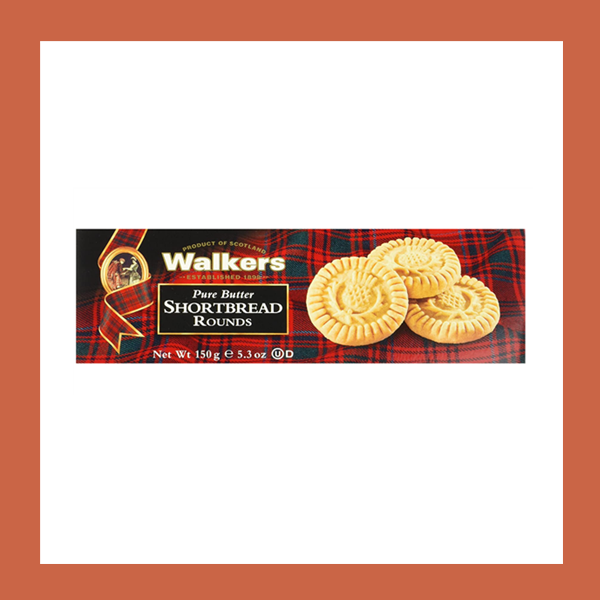 Walkers Shortbread Rounds苏格兰黄油曲奇 150 g
