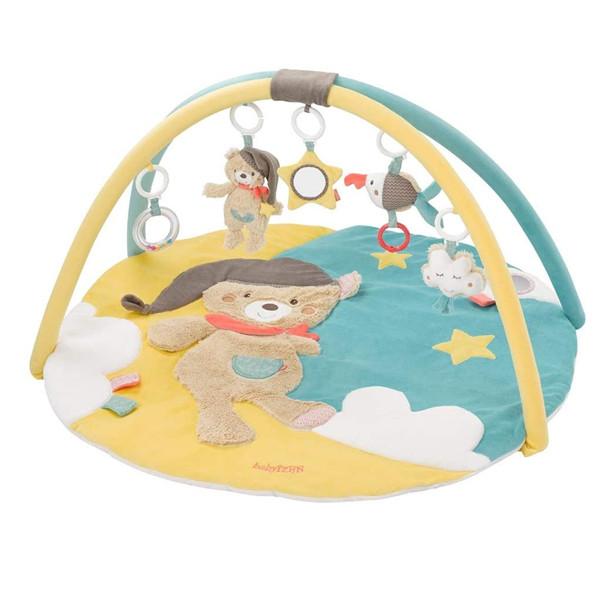 宝宝好物推荐!Fehn 060256 3D婴儿活动玩具毯 Ø85cm