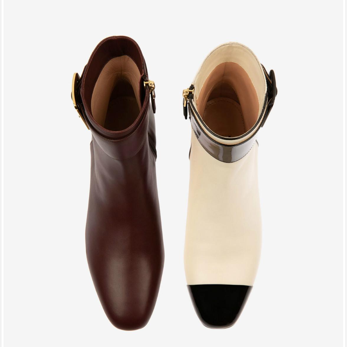 JANELLE风格的靴子!Bally Jay粗跟靴