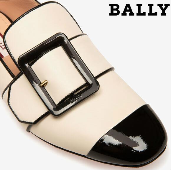 黑与白的极致优雅 Bally JANELLE平底乐福鞋