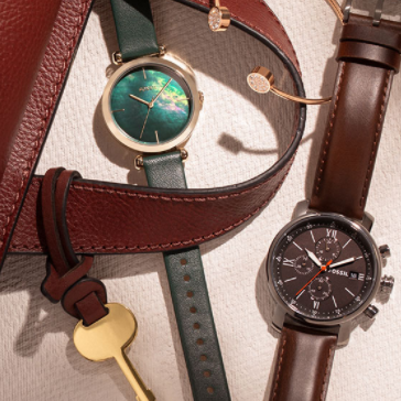 现代经典的精髓 FOSSIL腕表包包首饰