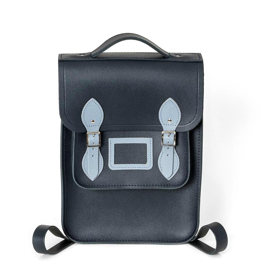 【直邮中国】从英剧里背出来的书包 The Cambridge Satchel皮革拼色背包