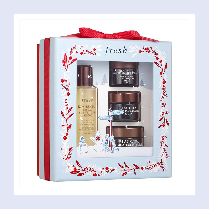 将馥蕾诗的高端红茶系列一次全体验!Fresh 馥蕾诗红茶抗老系列套装