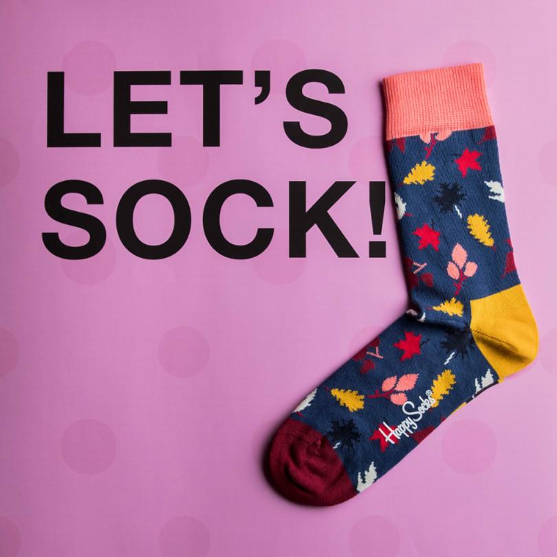 年售一亿欧,专注斑斓彩色袜子!Happy socks