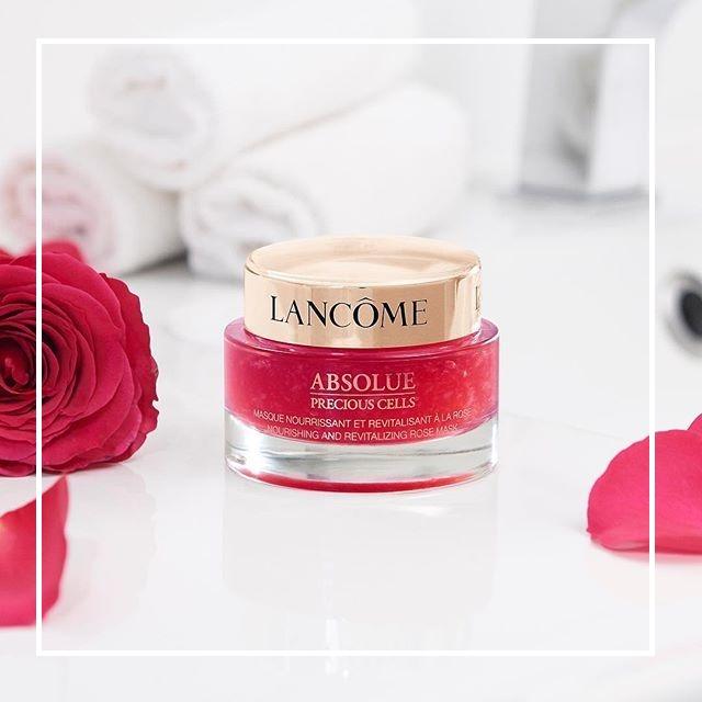 有颜有实力还有性价比!Lancôme 兰蔻菁纯臻颜玫瑰面膜