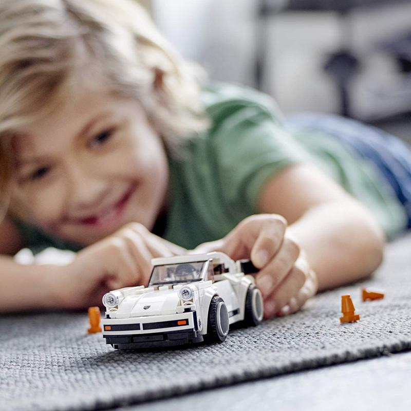高还原保时捷911 LEGO玩具模型车组