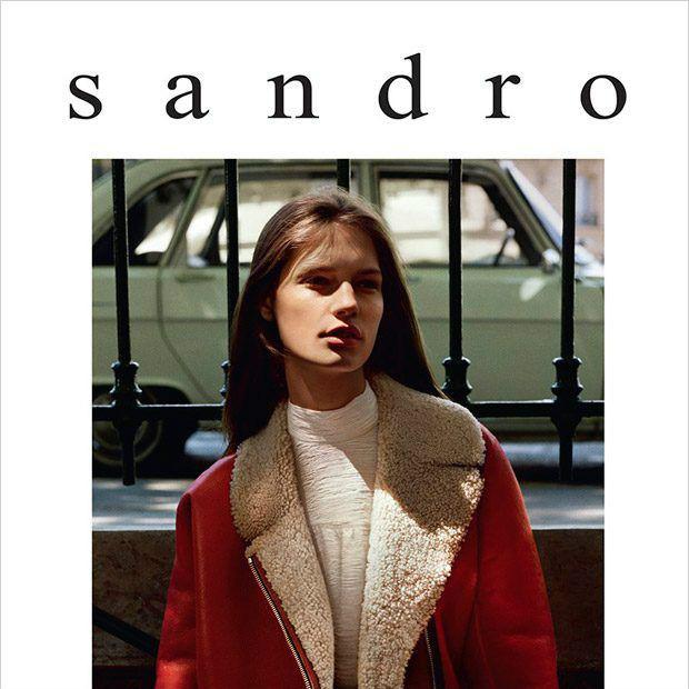 典雅别致的法式时尚 Sandro官网