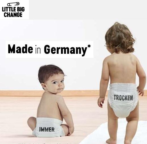 法国婴儿尿布品牌Little Big Change