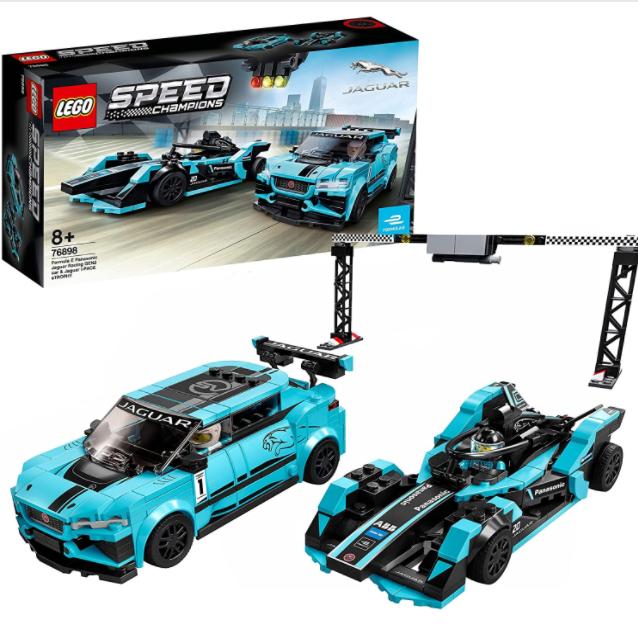 新年送新礼!LEGO松下捷豹赛车模型两件套