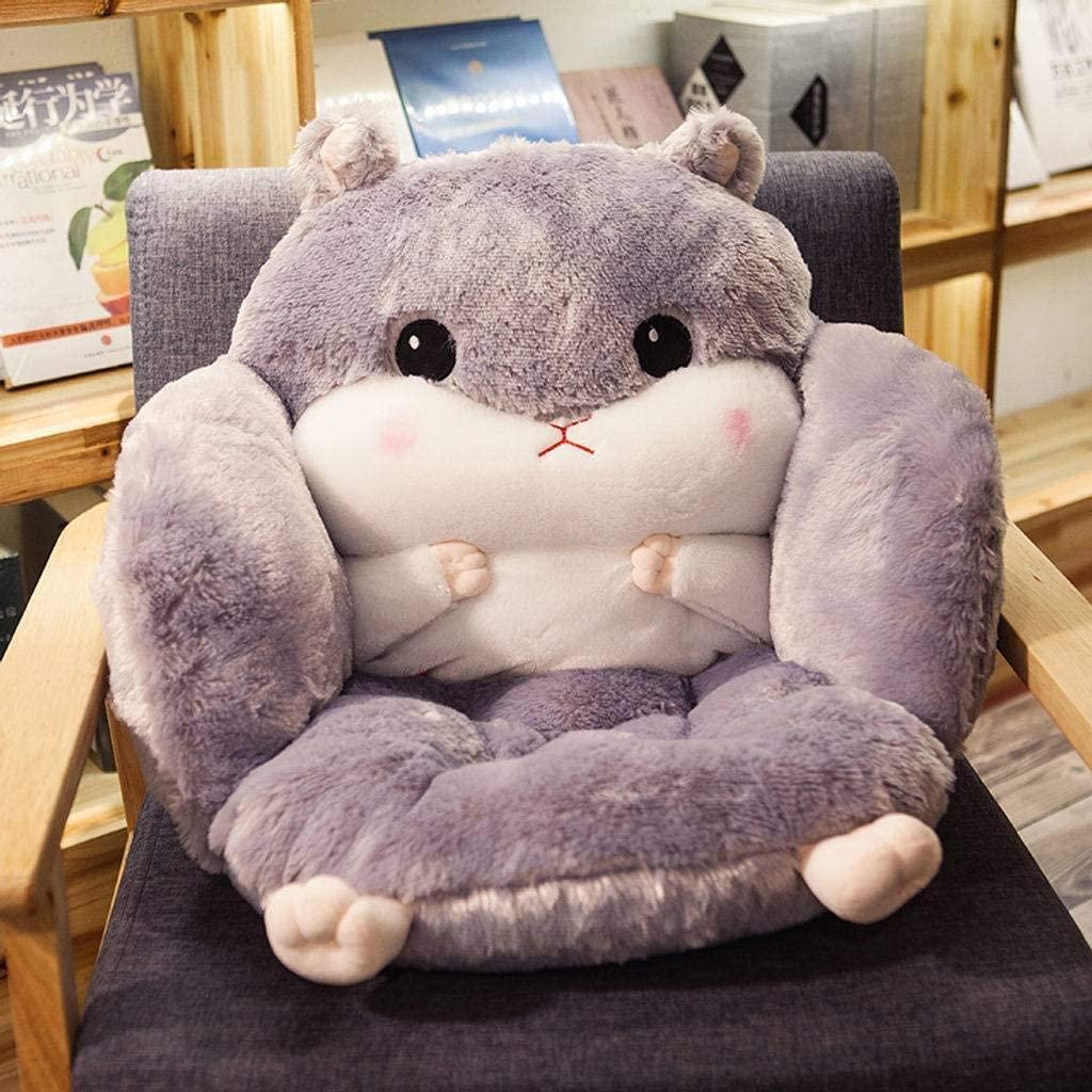 超柔软毛茸玩具款小松鼠坐垫