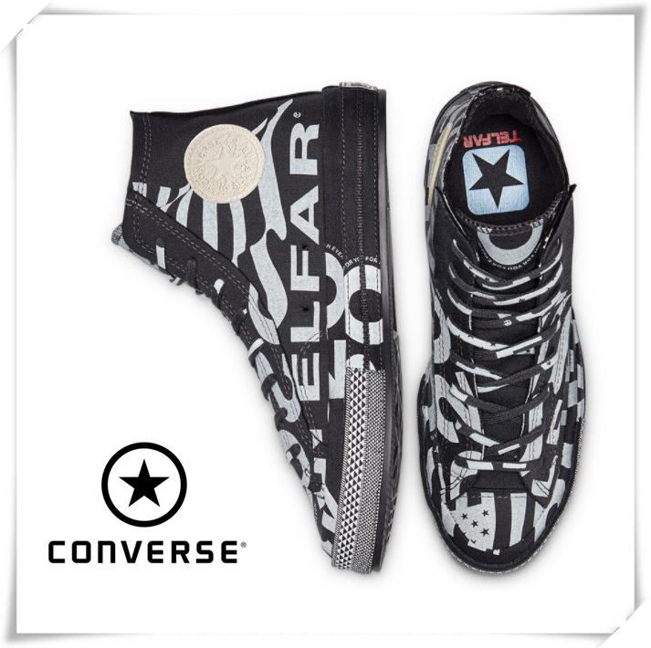 匡威Converse x TELFAR 艺术家联名款!Chuck70高帮板鞋