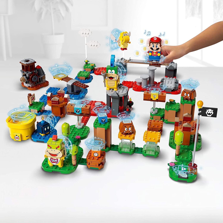支持DIY自定义的设计的LEGO乐高马里奥关卡工具箱