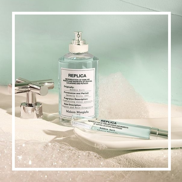 放慢脚步沐浴在悠闲假日!Maison Margiela 新香#Bubble Bath泡泡浴