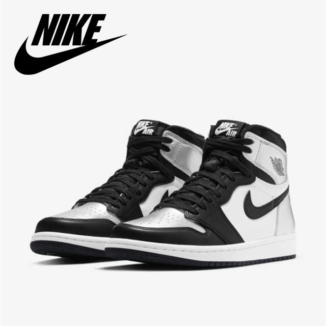 专为女性打造的黑银脚趾,男生纷纷馋出了口水 Air Jordan I Retro 'Silver Toe'