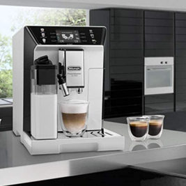 带研磨系统 De'Longhi PrimaDonna ECAM 550.65.W型全自动咖啡机