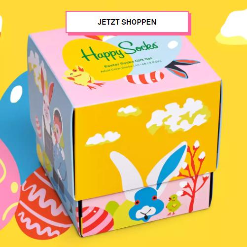复活节就是斑斓的彩色~happy socks的节日优惠来啦!