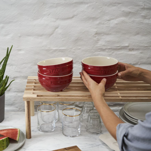 Zwilling旗下Staub高级感爆棚的瓷碗~4只装