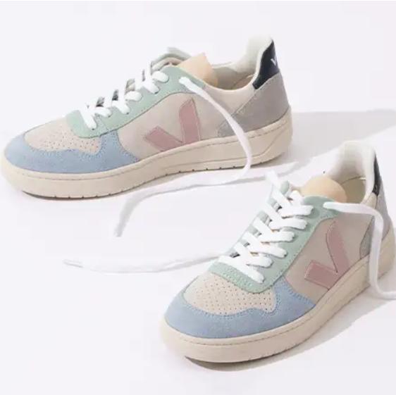 Veja法国文艺小白鞋!