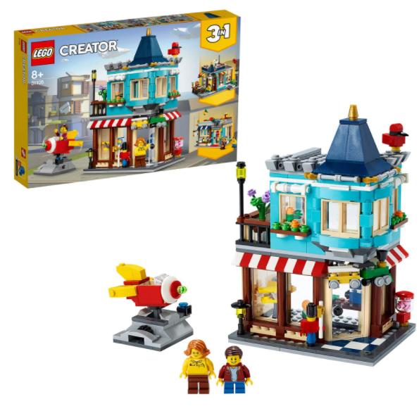 LEGO三合一玩具屋~超真实街景,孩子们的过家家最爱!