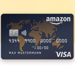 Amazon亚马逊 Visa信用卡推荐!