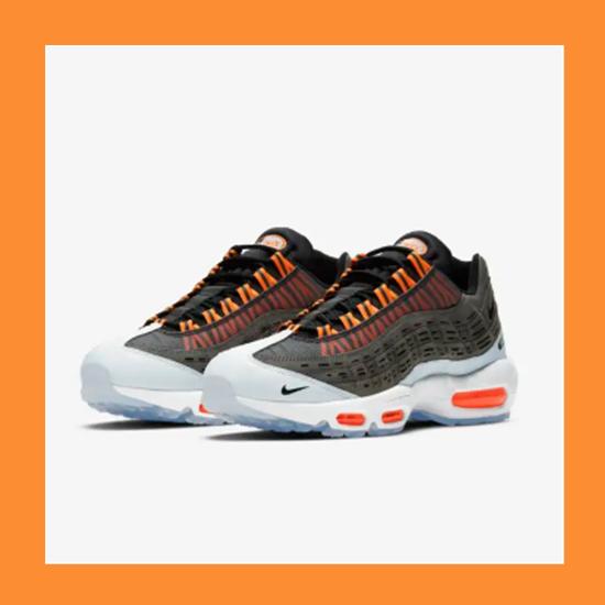 Fendi与Dior创意总监KIM JONES X AIR MAX 95联名鞋款 Total Orange