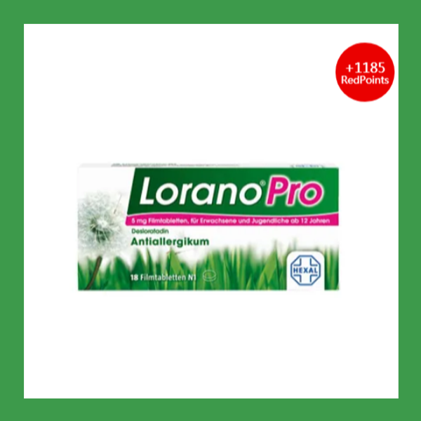 Lorano® Pro 抗敏药 18片